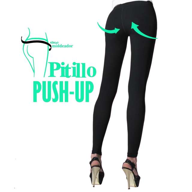 Leggings pitillo efecto push up
