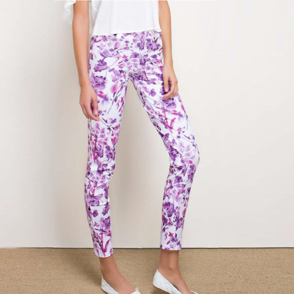 Leggings pitillo estampado primavera