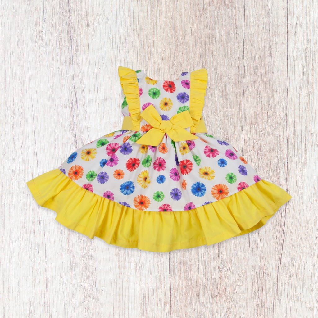 0b482ae74b2 Vestido de niña estampado flores. 50075; Baby Ferr