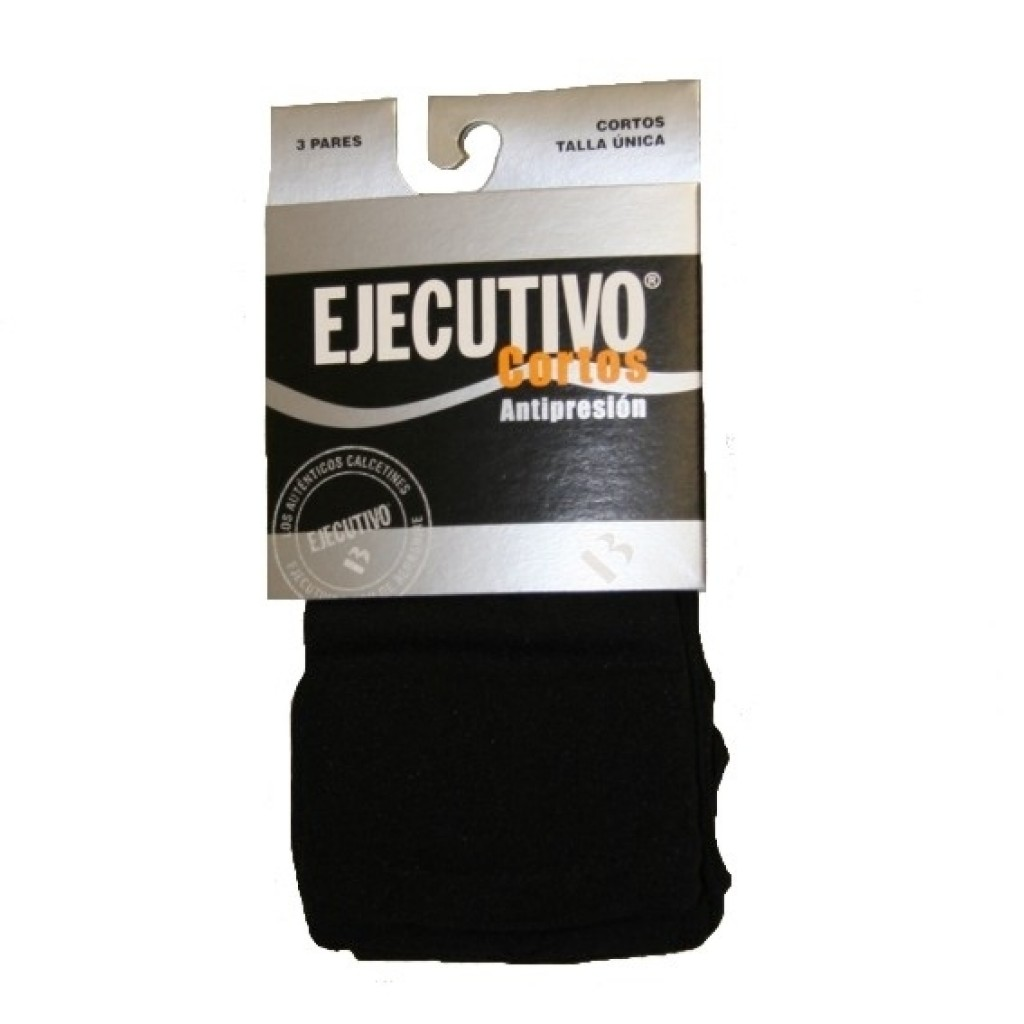 Calcetines hombre pack 3 ejecutivo anti-press