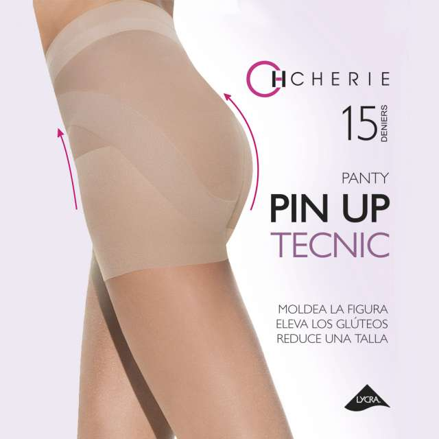 Panty Pin Up fajita moldeadora 15 den.
