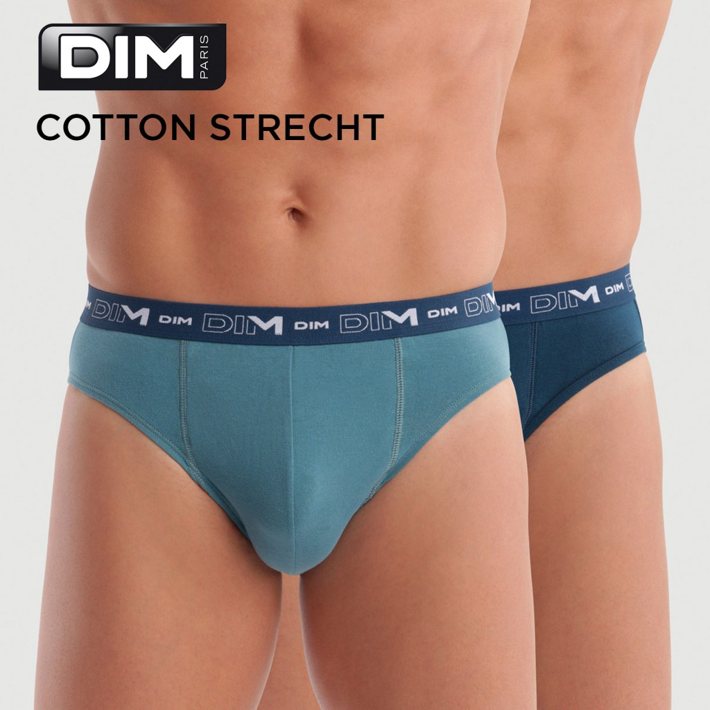 Slip pack 2 Cotton Stretch