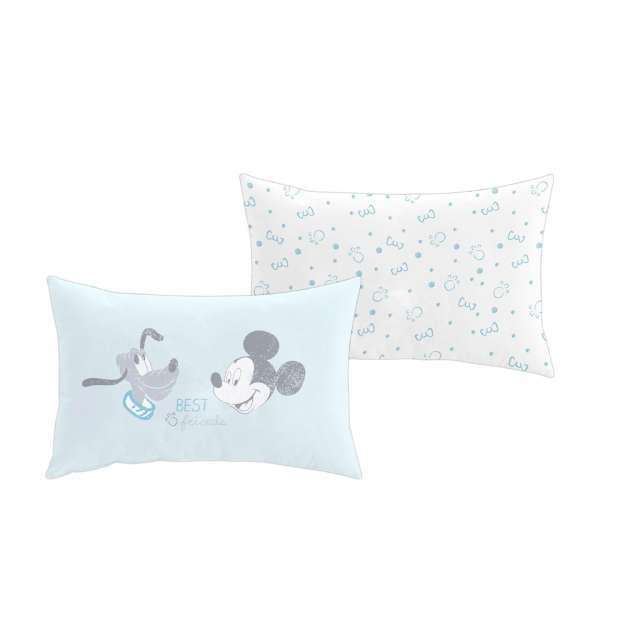 Cojin decorativo con estampado Mickey & Pluto