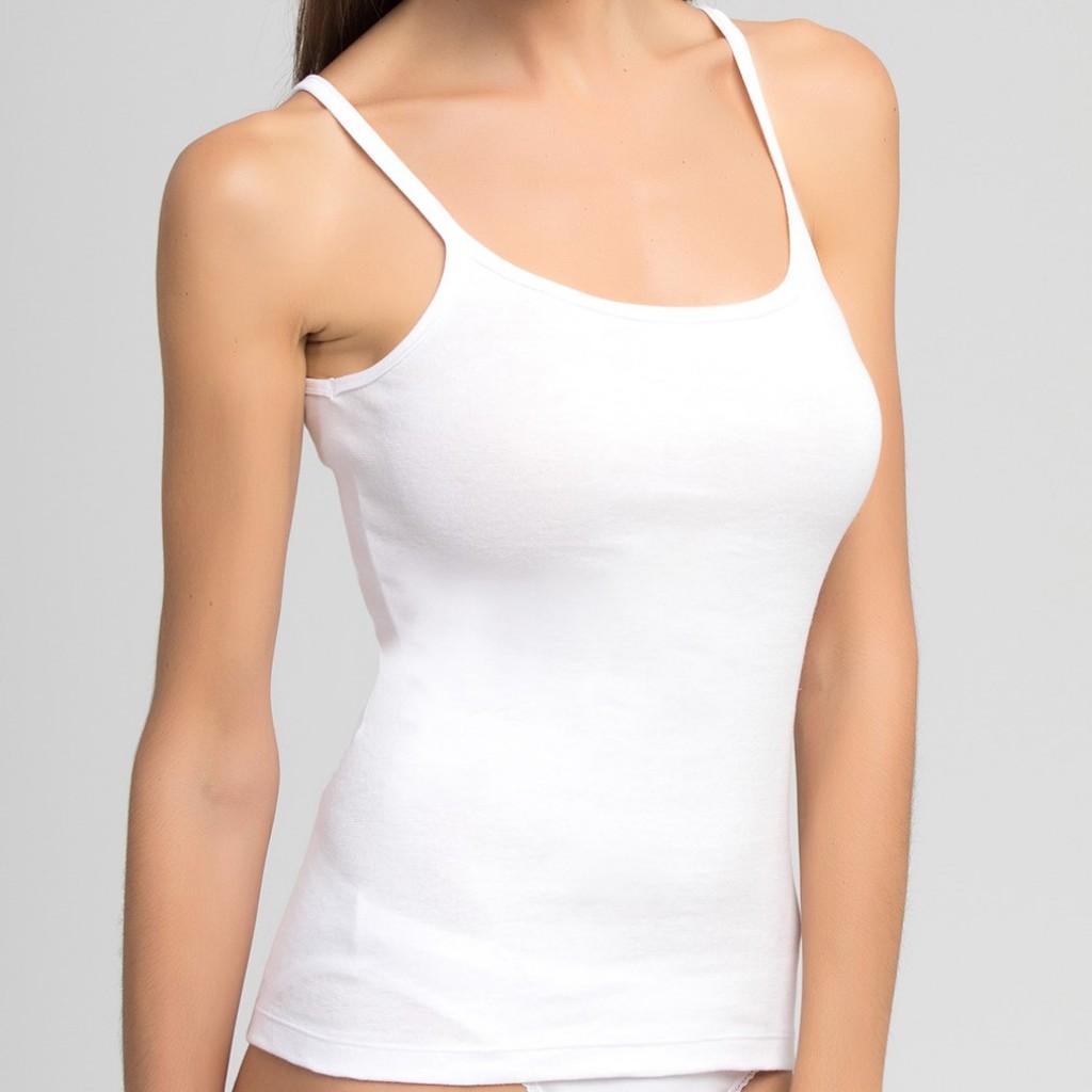 2d99cc93 Camiseta de algodón con tirante fino Playtex