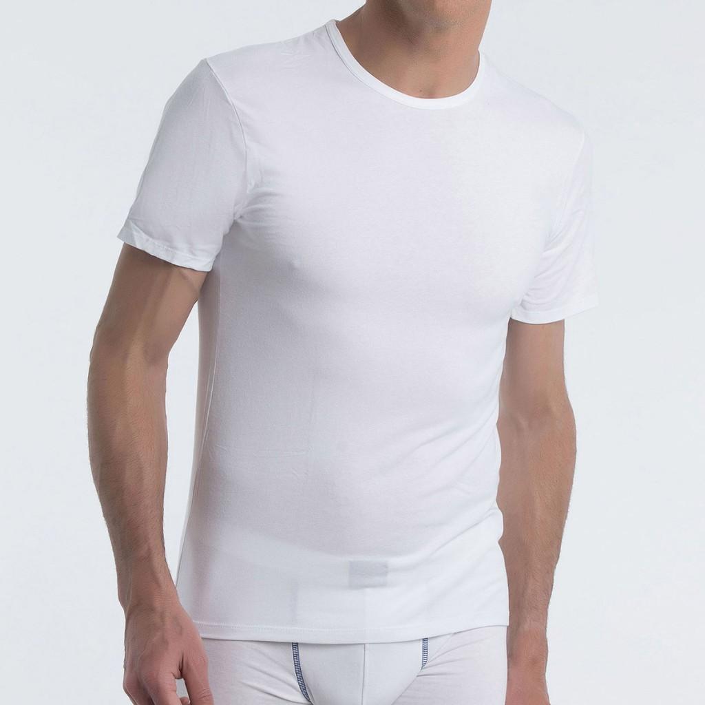 e50f01e6b Abanderado 040W Camiseta manga corta cuello redondo Xtemp