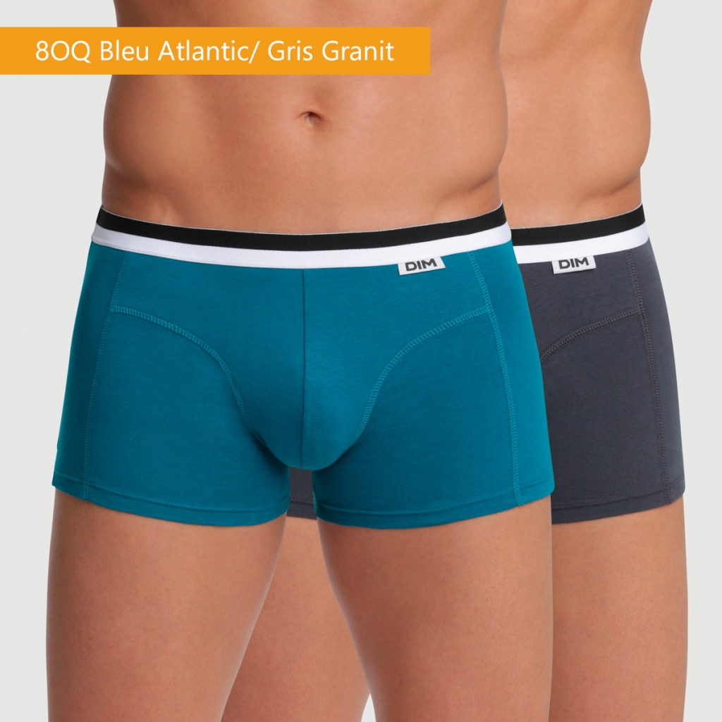 Pack x2 boxers algodón Unno By Dim