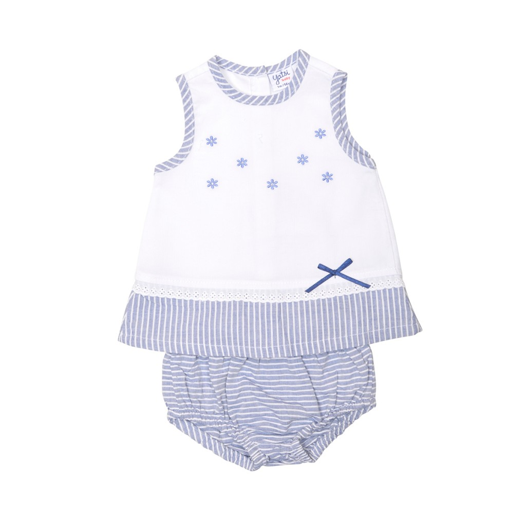 4ae5da523 Vestido bebe con braga a juego para recien nacido. 19171251  Yatsi